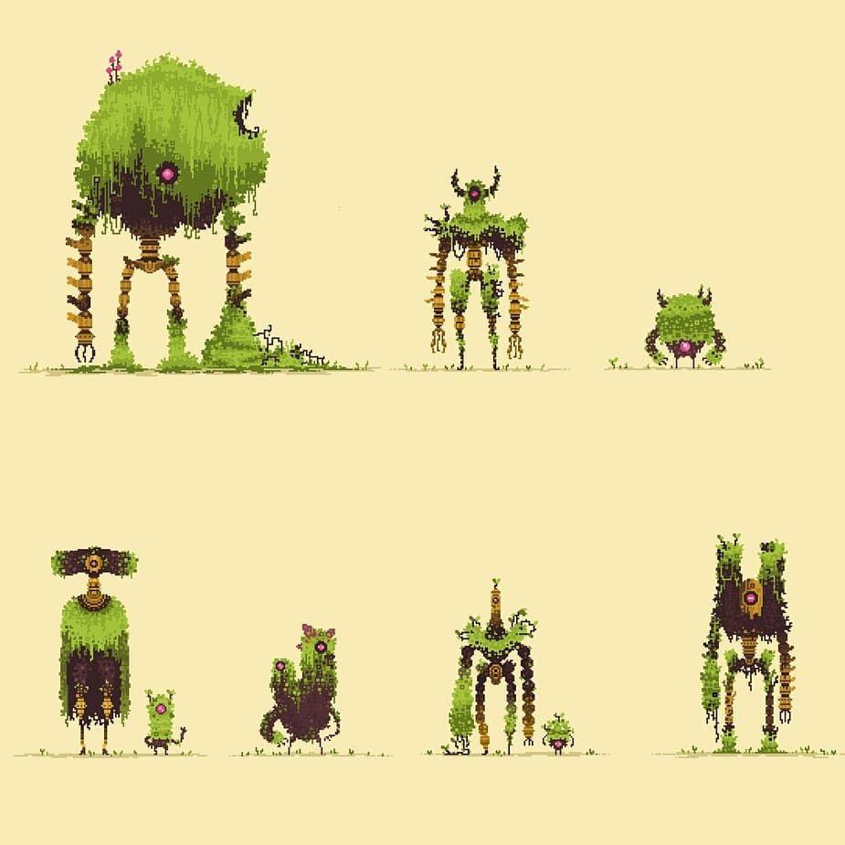 Pin By Corvidae Studios On Art Pixel Art Characters Pixel Art