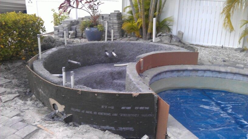 Adding To Existing Pool Hot Tub In 2020 Backyard Pool