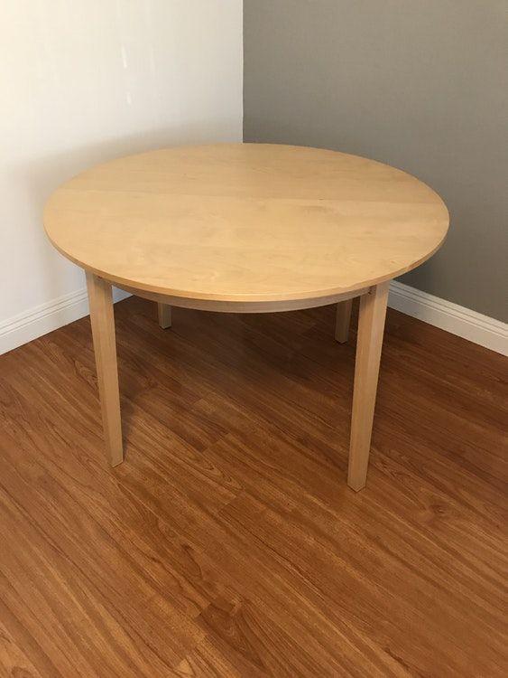 Ikea Bjursta Extendable Table Birch Veneer Dining Table Extendable Dining Table Table
