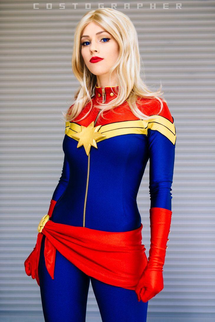 character: captain marvel (carol danvers) / from: marvel comics