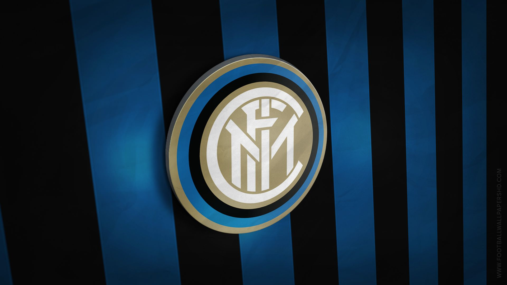 Inter Milan 3d Logo Wallpaper Olahraga