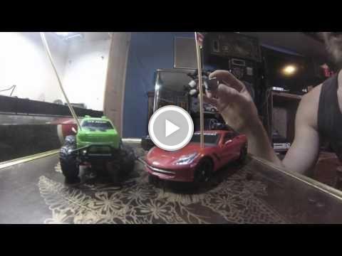 New Bright RC Sports Car Walmart MODS WHEELIE & DRIFT POWER- How to