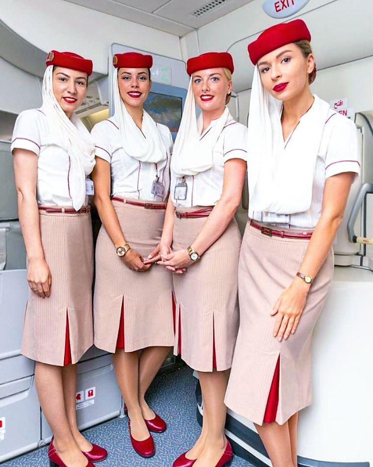 Aviation Crewdubai Ekcrew Airline Cabincrew Crewlife Uniform Redhad Cabincrewlife Flight Attendant Fashion Flight Attendant Flight Attendant Uniform