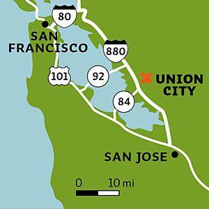 Union City Bike Trails Bike Trails Union City Bike Trails Union City California