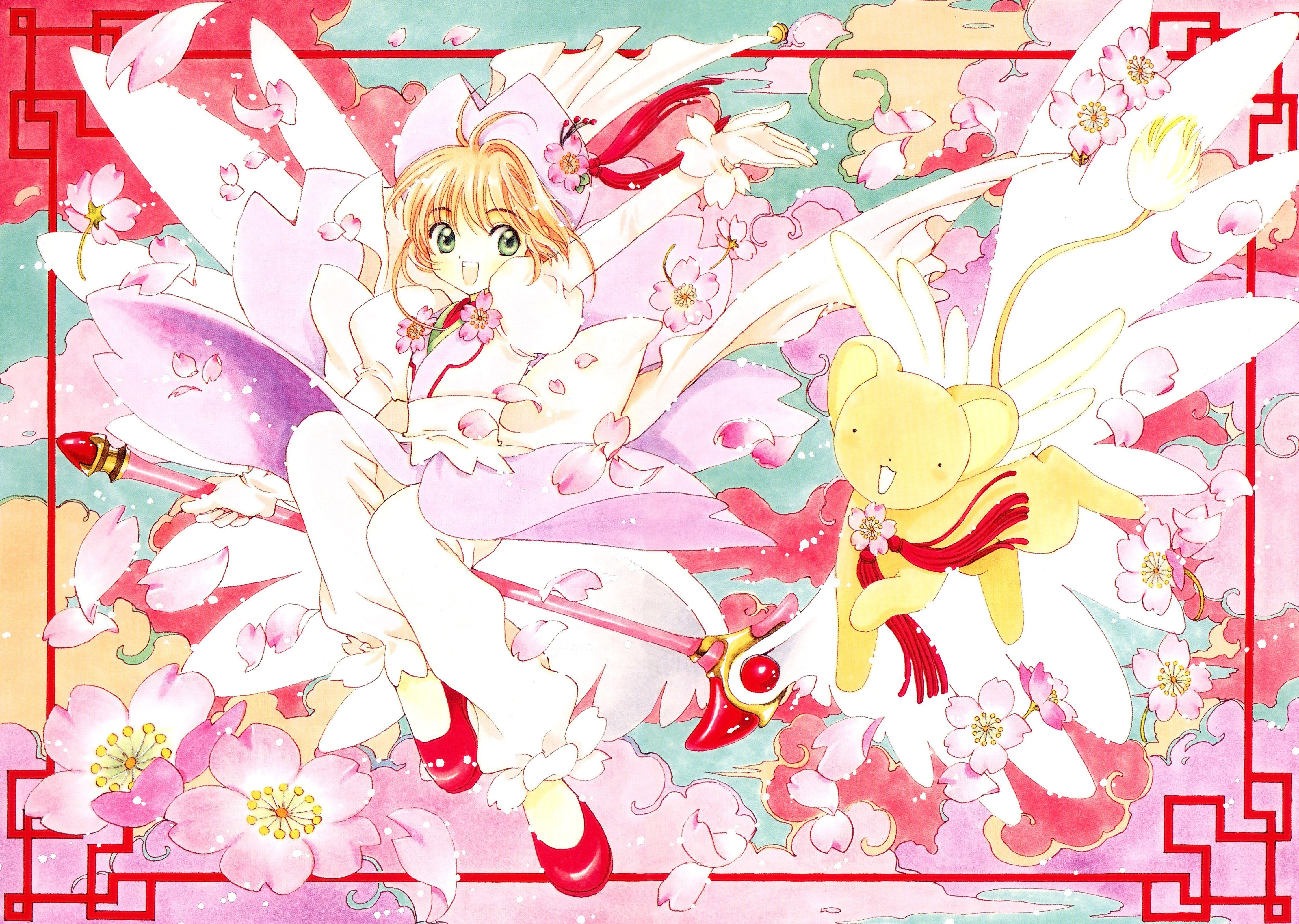 CLAMP, Cardcaptor Sakura, Cardcaptor Sakura Illustrations ...