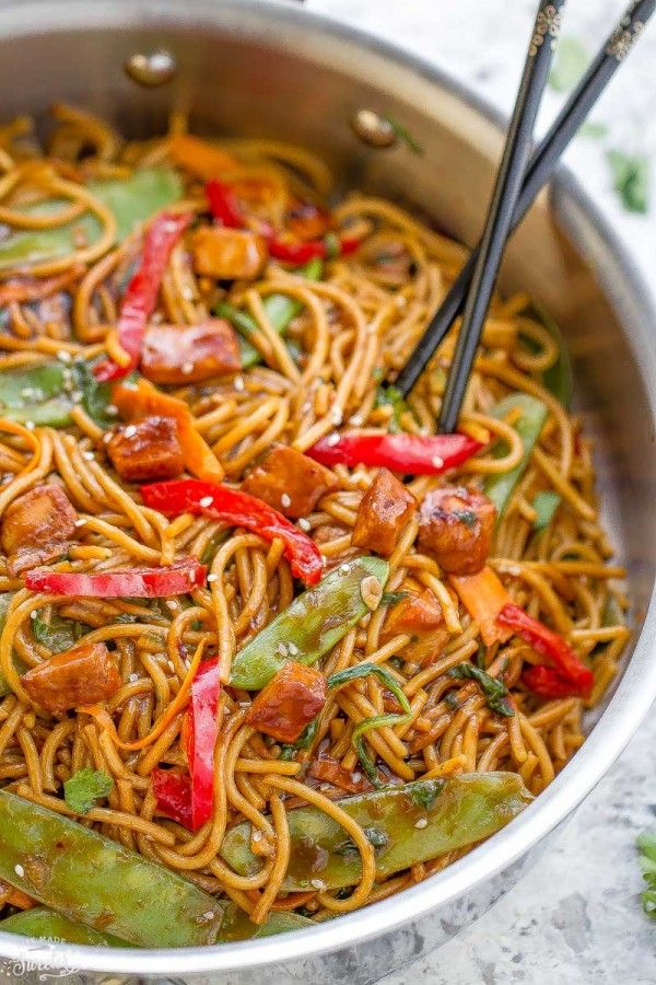 Easy chicken lo mein makes a delicious weeknight meal way better easy chicken lo mein makes a delicious weeknight meal way better than takeout meal prep recipesduck recipeschinese food forumfinder Images