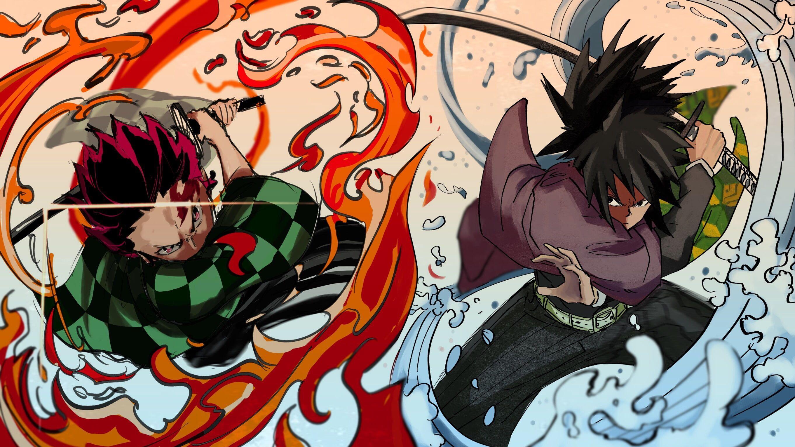 giyuu x shinobu wallpaper by Kinthujank 8a Free on