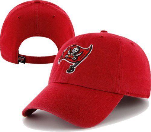 22eeefe9 NFL Tampa Bay Buccaneers Clean Up Adjustable Hat, Red, One Size Fits ...