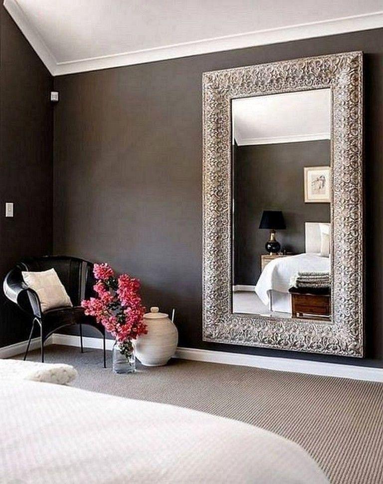 Mirrors In The Bedroom Beautiful 30 Incredible Design Putting The Mirror In The Bedroom In 2020 Mirror Wall Bedroom Wall Mirror Decor Living Room Big Mirror In Bedroom #oversized #mirror #living #room