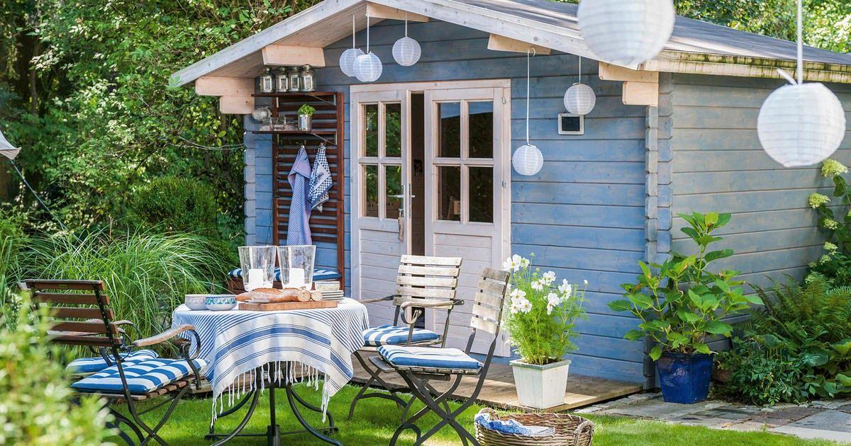 Gartenhaus Lasur Grau in 2020 Gartenhaus, Gartenhaus