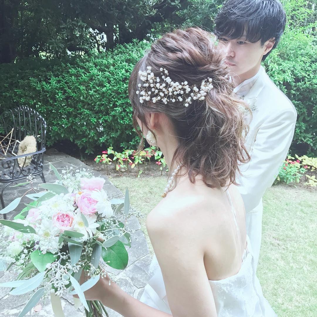 Weddinghair ウェディングヘアアレンジ 157 Likes 5 Comments