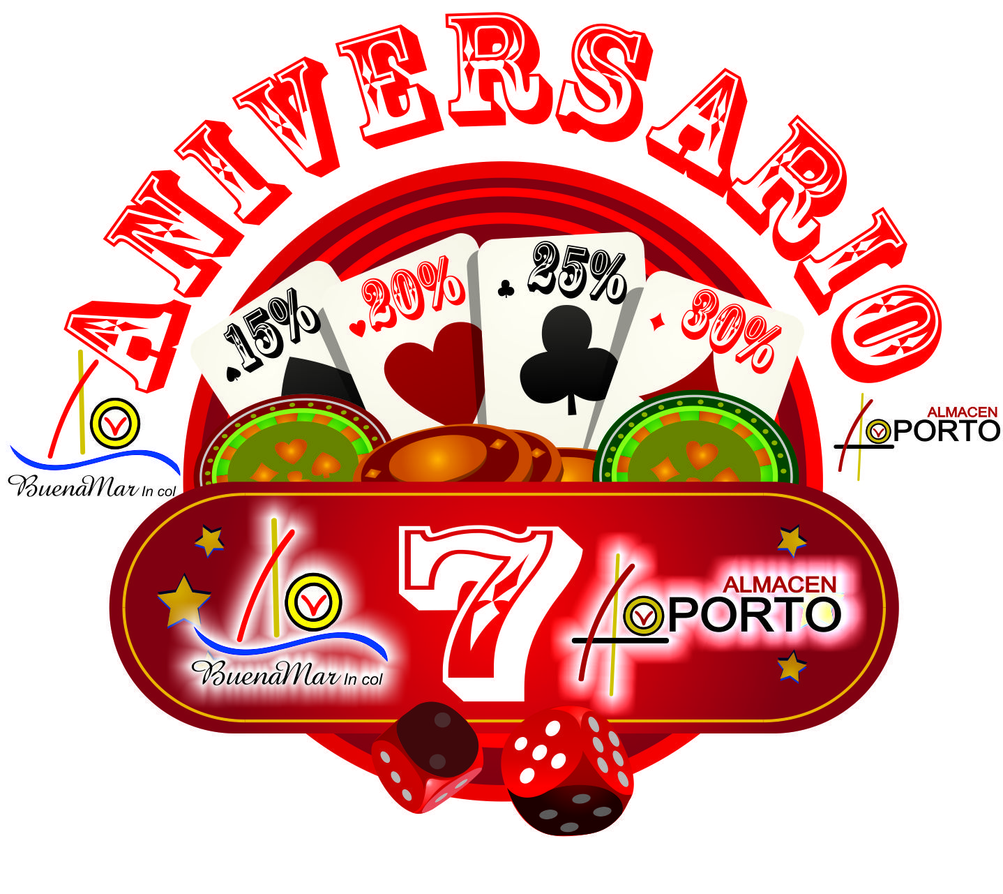 Aniversario @almacenoporto1 #Cartago #Pereira @JorgeEMoncadaA