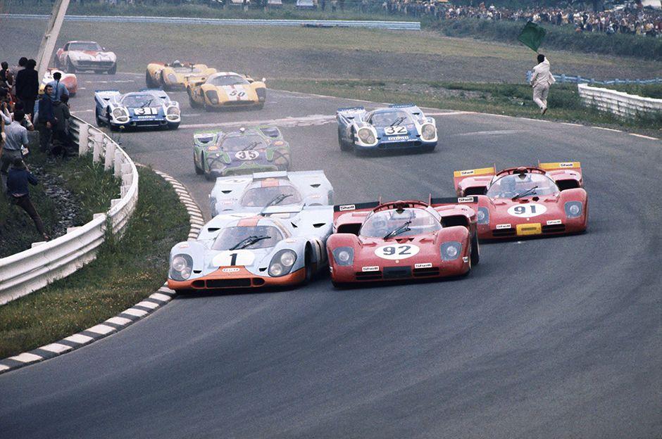 1970 Watkins Glen 6 Hours. Watkins Glen. USA. 11th July