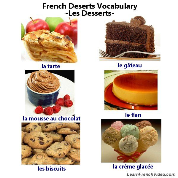 fun french audio lesson learn how to say different kinds