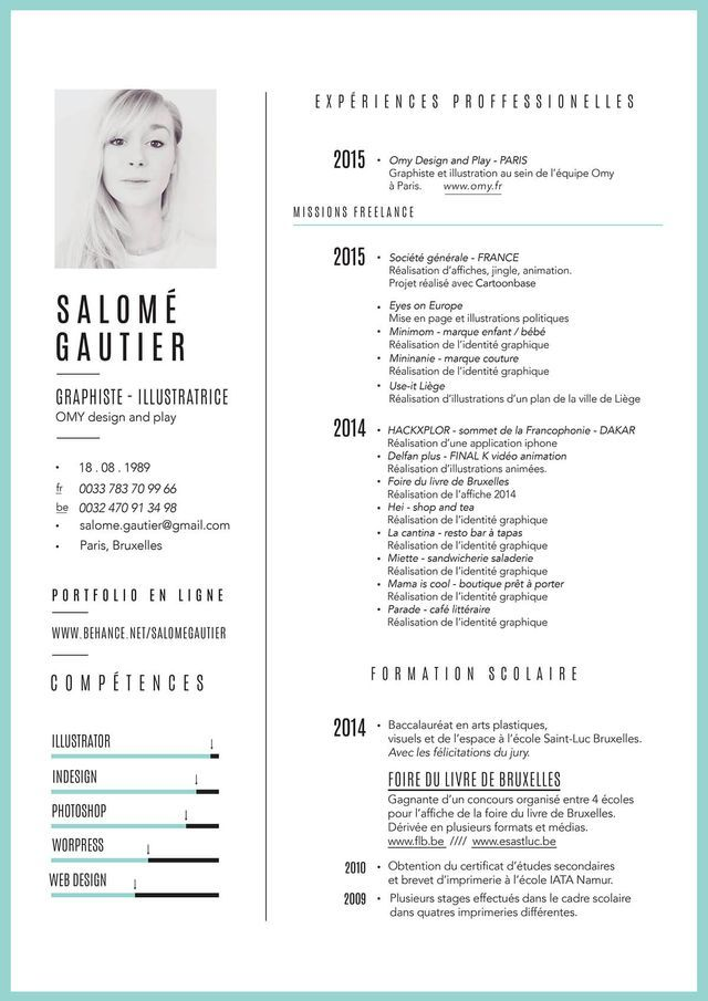 using color in resume
