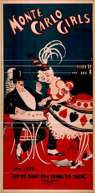Carteles Vintage Enmarcados En Ovalo R E Diferentes Tamanos Poster Art Monte Carlo Margaret Dumont