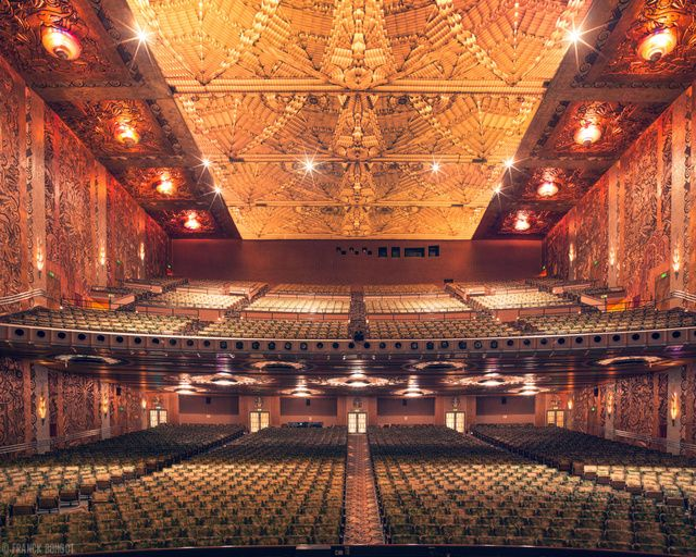 Photos Of Movie Theaters Show The Former Grandeur Of Cinema Movie Theater Paramount Theater Art Deco Buildings
