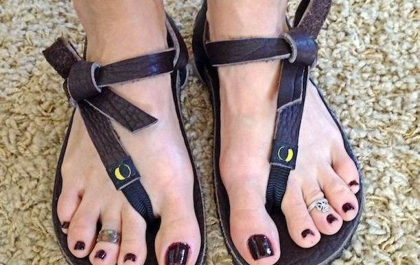 Chocolate Designer Foot SandalsBare MonoTreads Sandals hQxBtrsdC