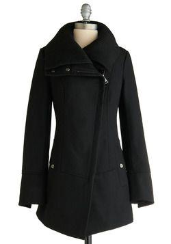 Diagonal Alley Coat, #ModCloth