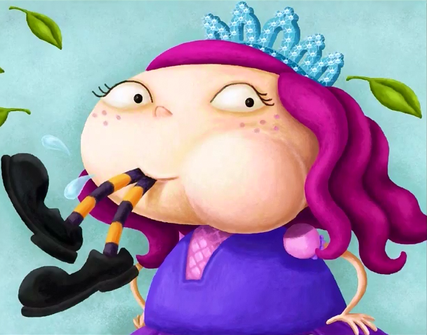 There Was an Odd Princess Who Swallowed a Pea--The story of a chubby cannibalistic princess! Less Ordinary Librarian http://lessordinarylibrarian.blogspot.com/2014/03/peas-please-storytime.html
