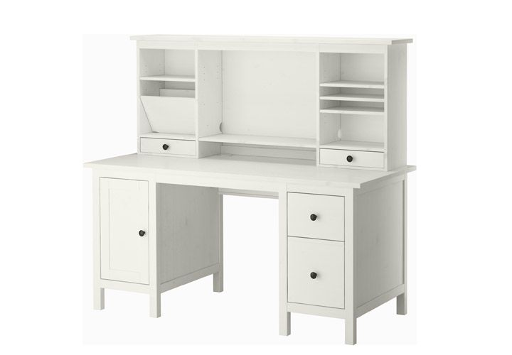 White Computer Desk With Drawers Ikea Hemnes Desk White Computer Desk Ikea Hemnes