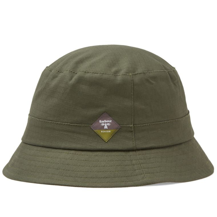 3eda9e9f8d7 Barbour Gully Hat Green 1