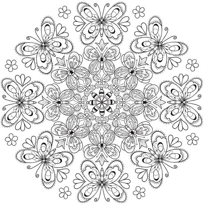 ԑ̮̑♢̮̑ɜ~Mandala para Colorear~ԑ̮̑♢̮̑ɜ | ॐ☮☯ MANDALAS y MÁS ...