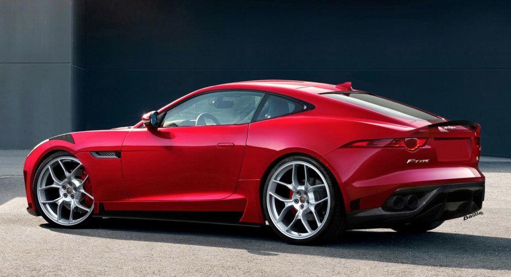 Merveilleux New Jaguar F Type Coupe R : CarsMelon