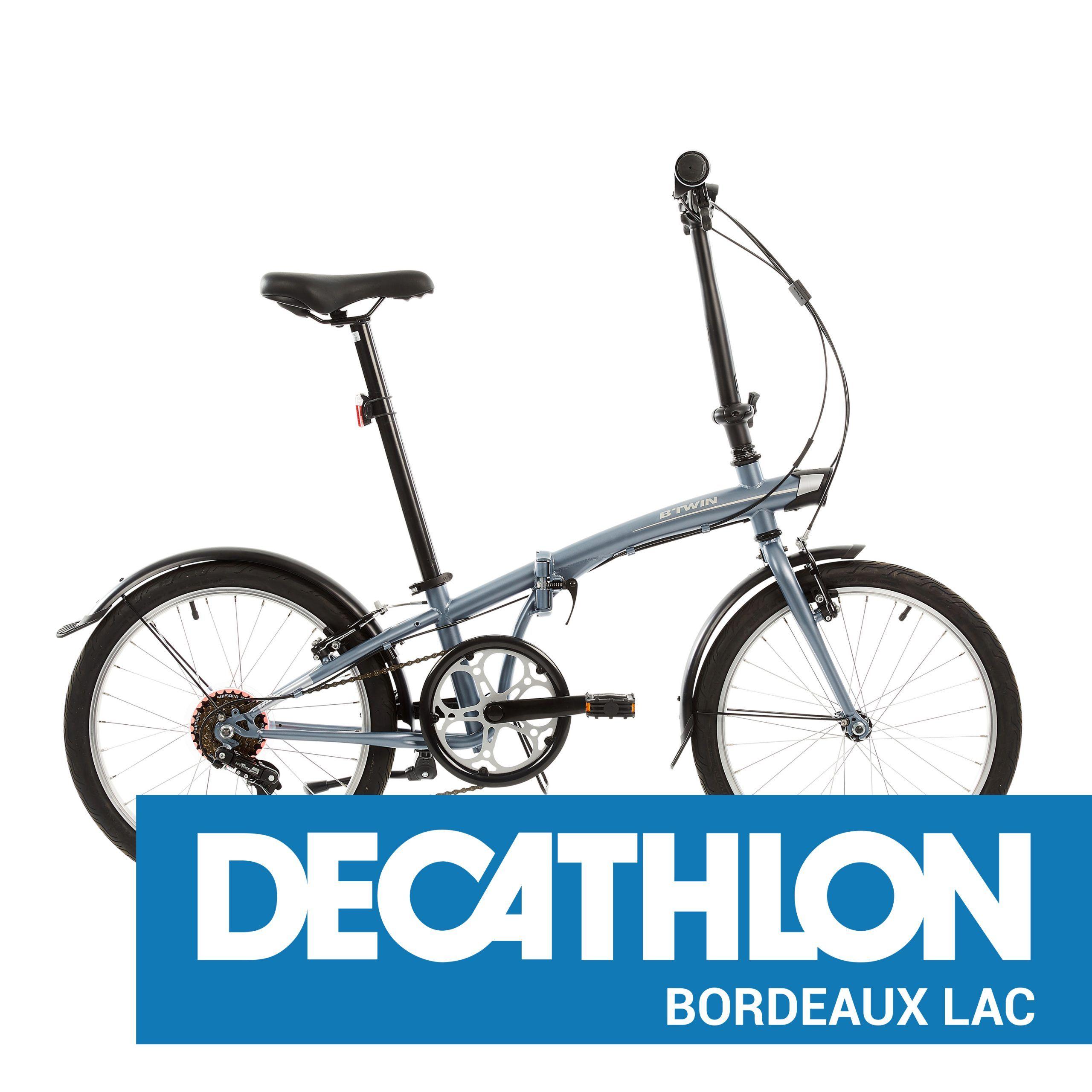Decathlon Bordeaux Lac Location Velo Pliant Tilt 120 En 2020 Velo Pliant Camping Car Decathlon