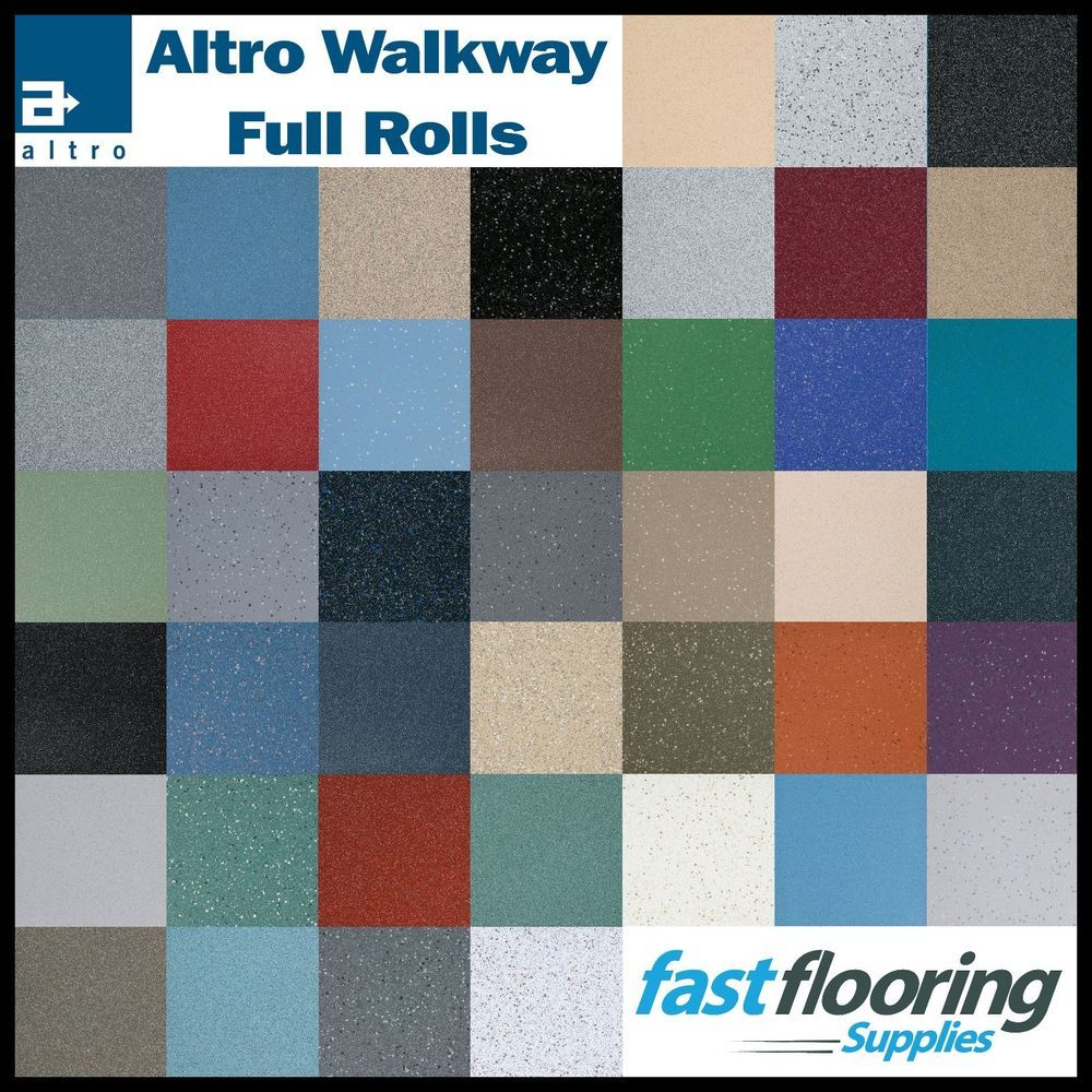 Details about Altro Walkway Safety Flooring / All 42