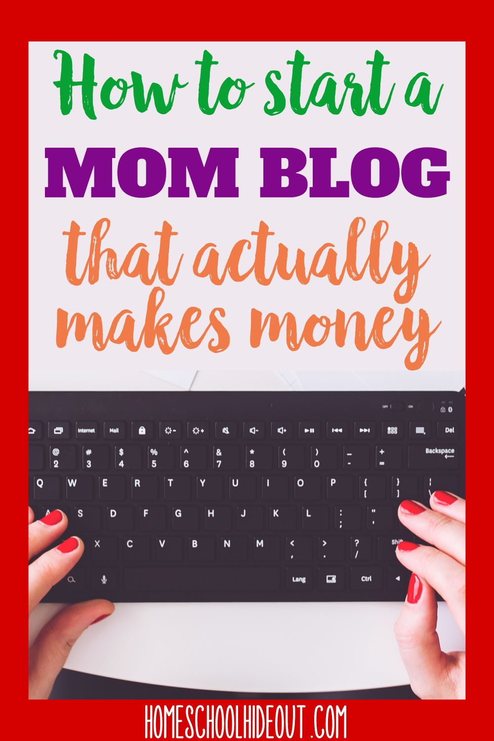 How to Start a Mom Blog and Make an Income - Homeschool Hideout Want to start a mom blog? We've got eveything you need in just 8 simple steps!