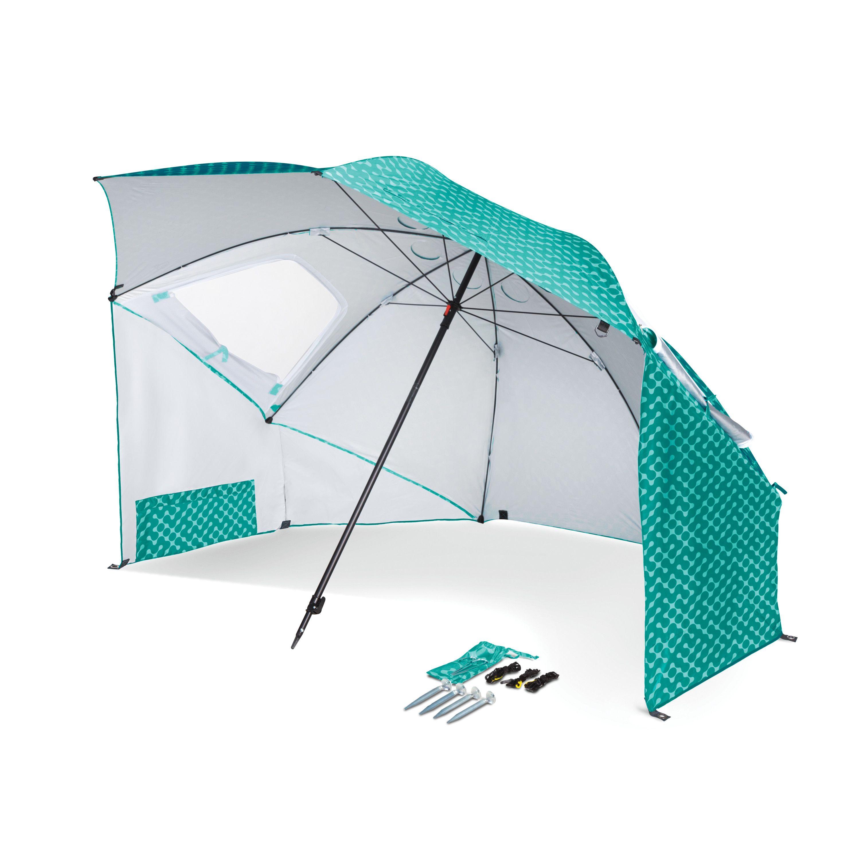 SportBrella Portable AllWeather & Sun Umbrella, 8 foot