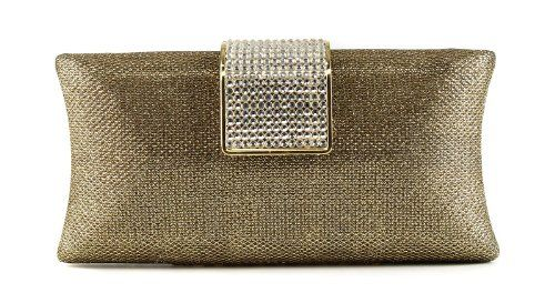 Scarleton Evening Clutch with Crystals H3188 $26.99