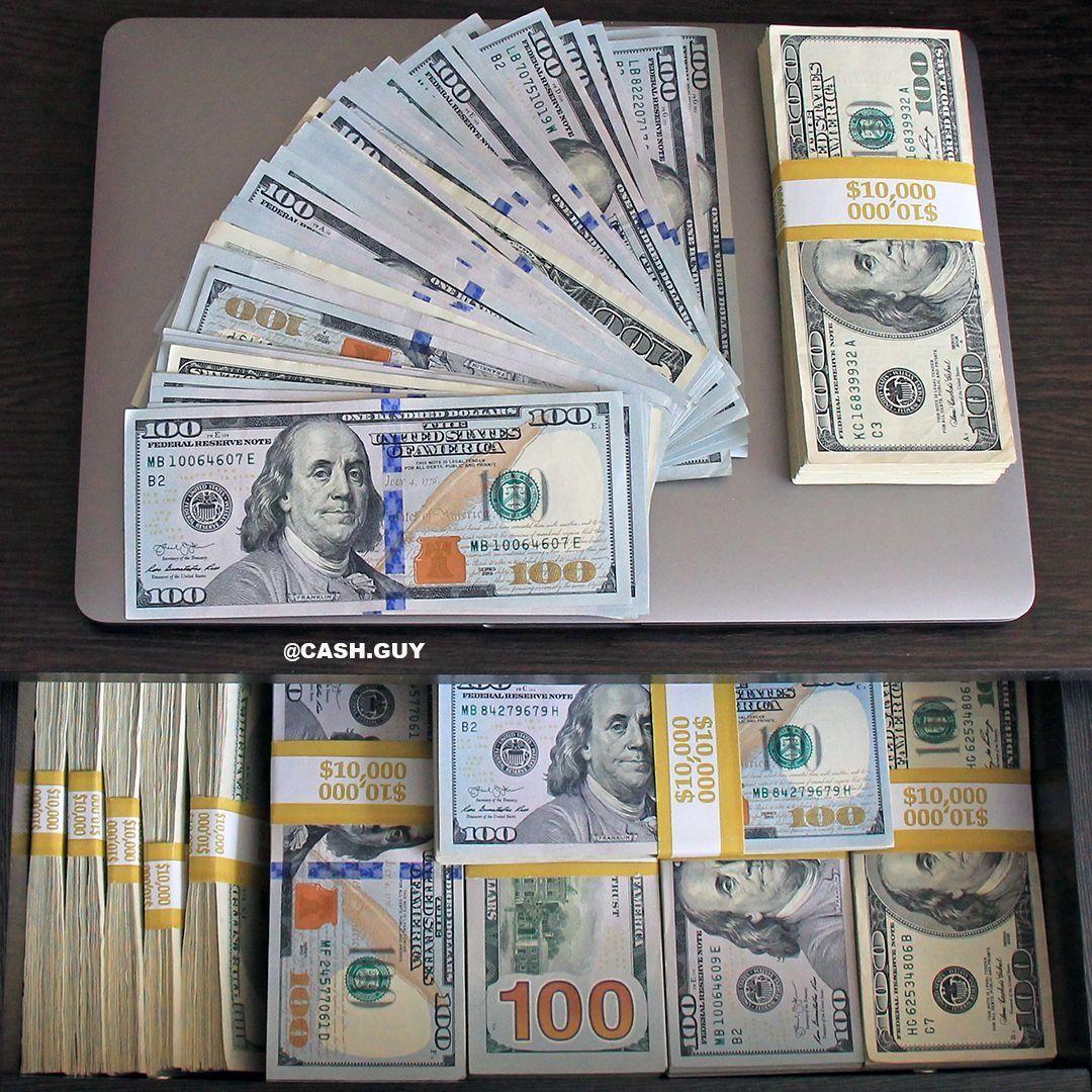 Pin by Obaid ALDeeK on money in 2019 | Money stacks, Dollar