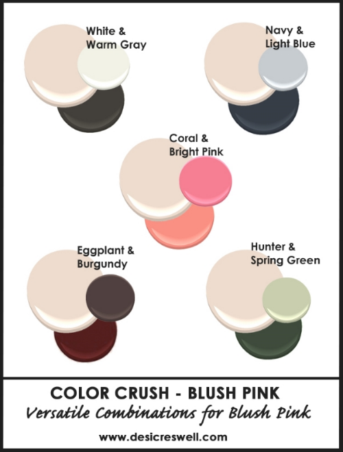 A Minnesota Lifestyle And Design Blog Pink Color Combination Color Crush Blush Pink