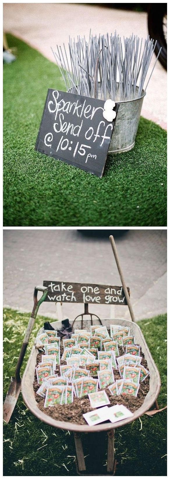 Yard wedding decoration ideas  Top  Outdoor Backyard Garden Wedding Ideas  Mariage  Pinterest