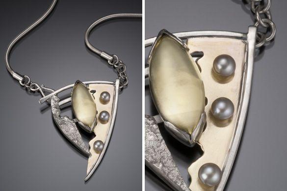 Geometric Works Lonni Hopkins Studio Jewelry Florida Metalsmith Handmade