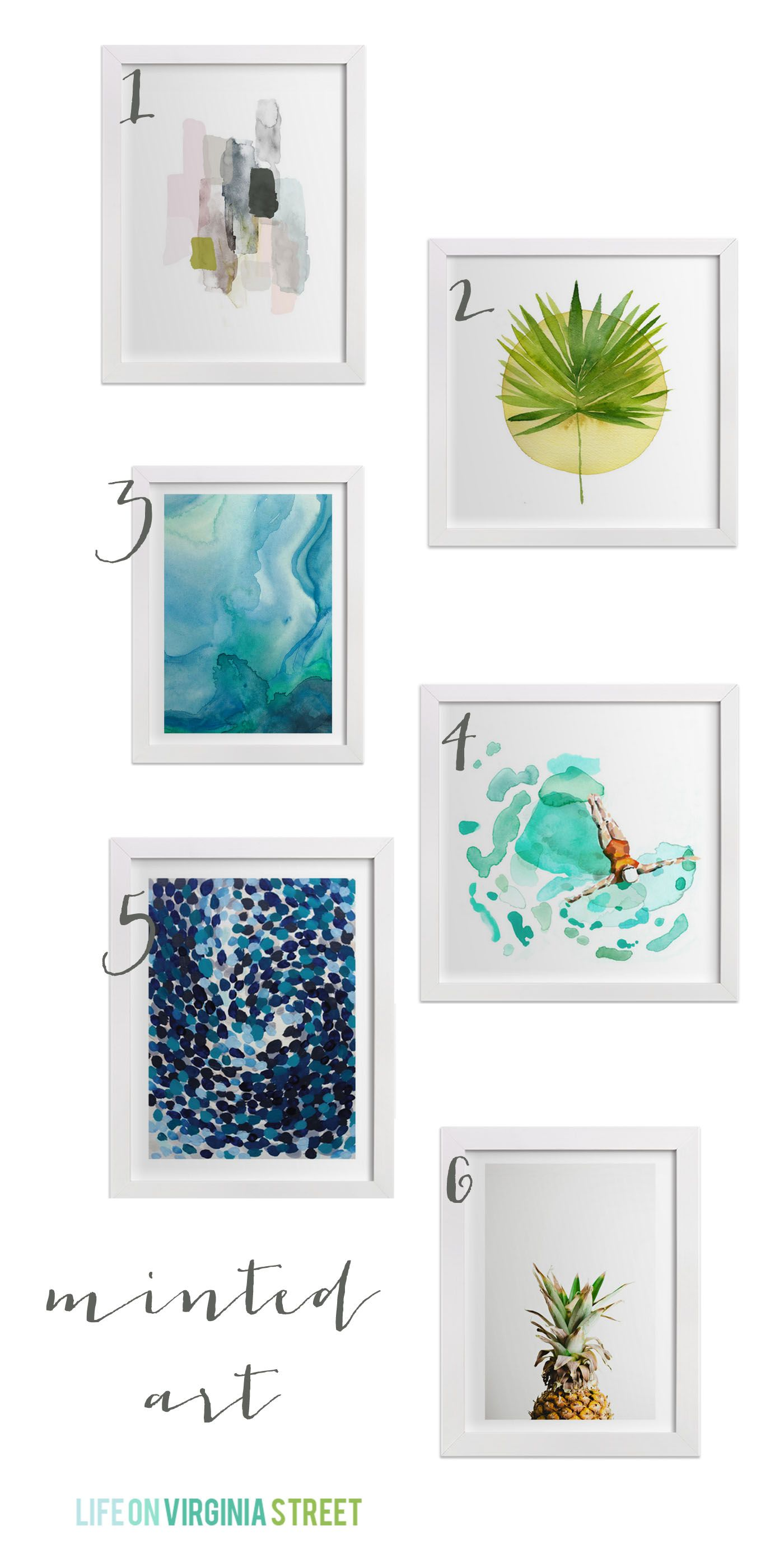 Minted Home Decor Fabric & Wall Art