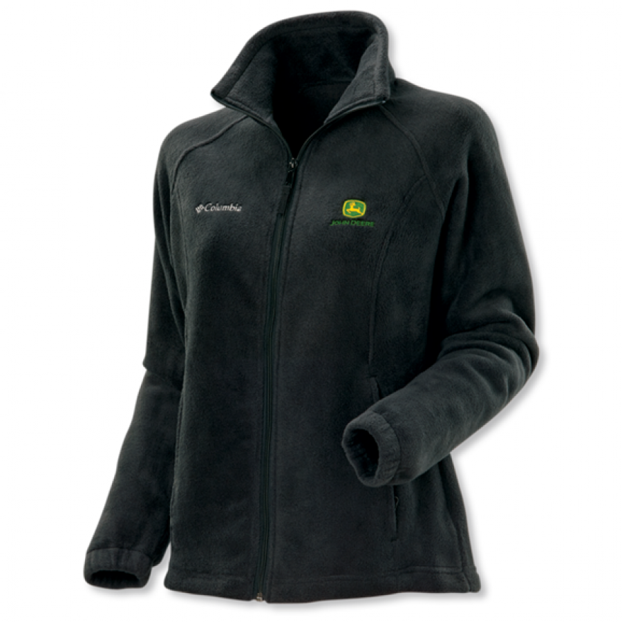 John Deere Columbia Ladies Brushed Fleece - Jackets