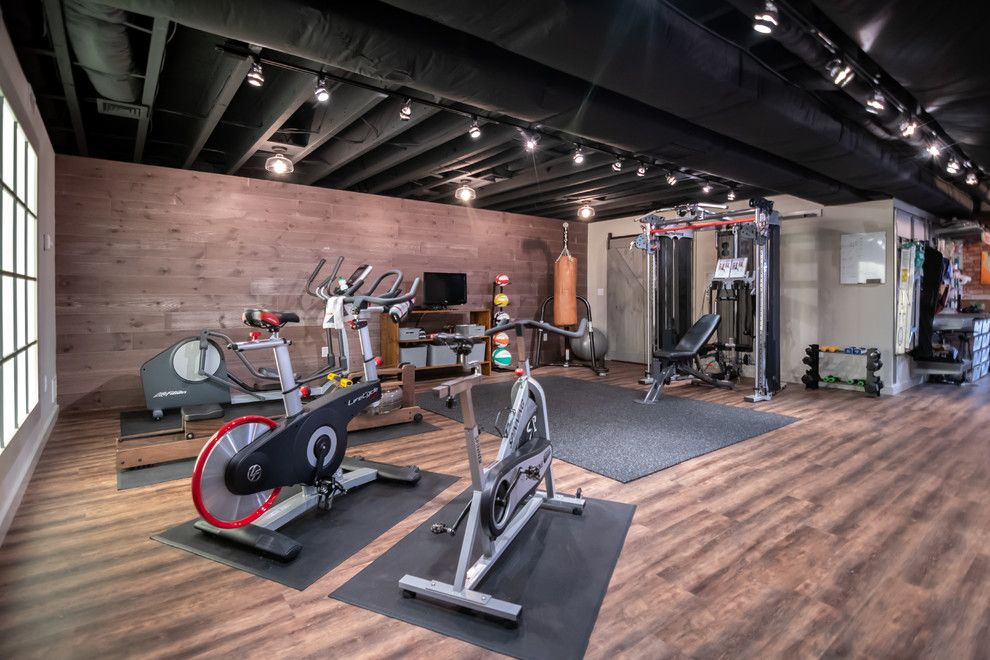 15 Best Industrial Home Gym Ideas In 2020 Home Gym Design Home