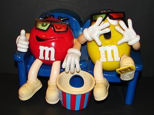 Mars Red Yellow M S 3d Movie Theater Candy Dispenser