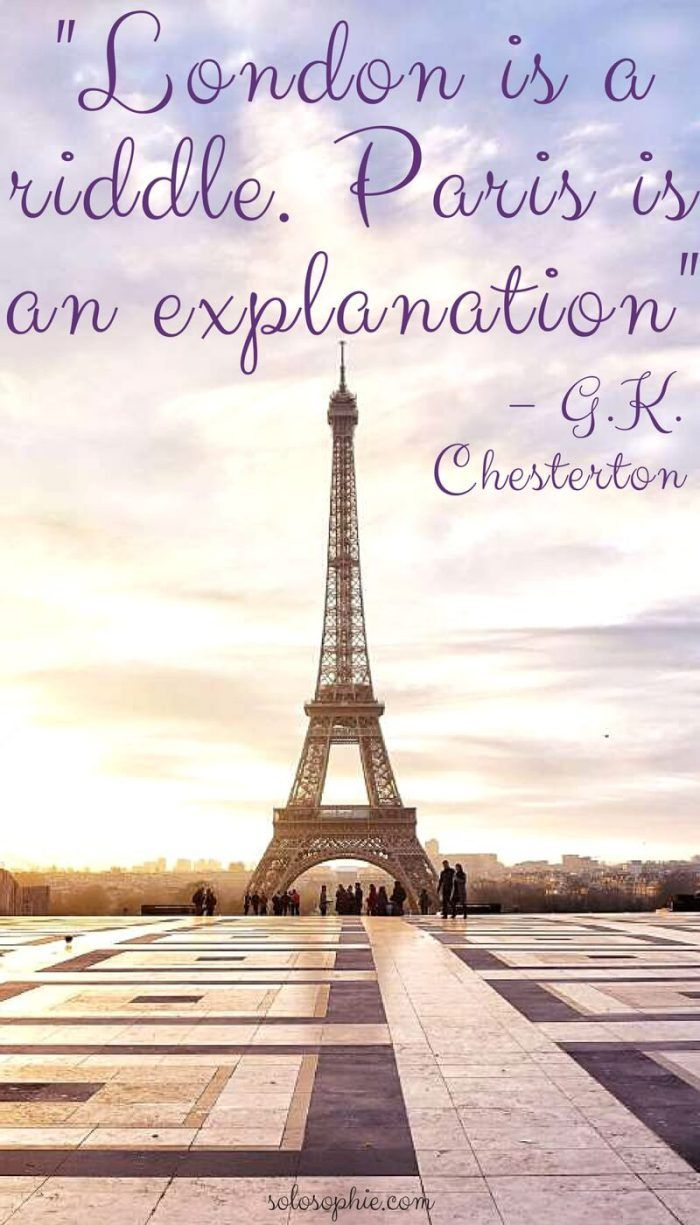 Paris Quotes Paris is Always a Good Idea: 10 Quotes About Paris | Destination  Paris Quotes