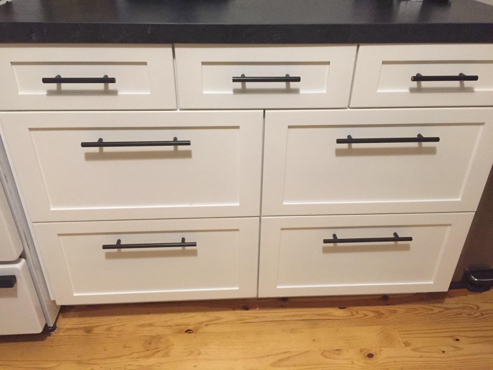 Oil Rubbed Bronze Matte Black Solid Kitchen Cabinet Bar Pull Handles 6 Amazon Com Kitchen Cabinets Bar Pulls Kitchen Kitchen Cabinet Handles