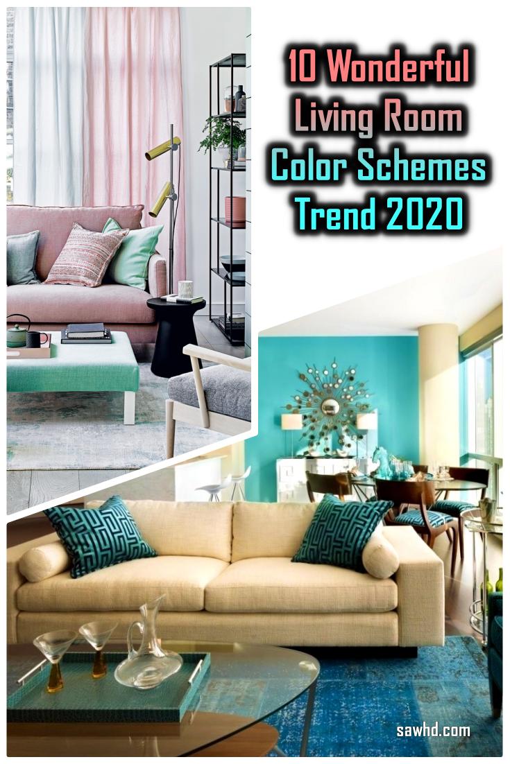 10 Wonderful Living Room Color Schemes Trend 2020 Inspiring 10 Wonderful Living Room Color Sche Living Room Color Schemes Room Colors Room Color Schemes