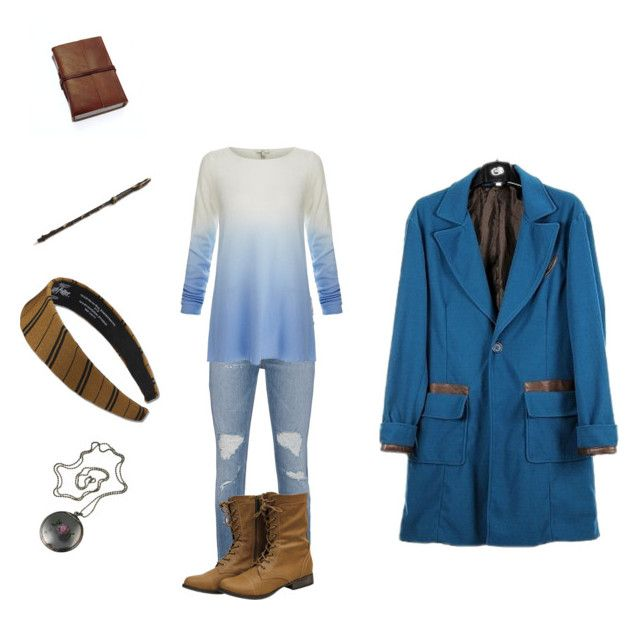 """Poppy Scamander - casual outfit 2"" by leviosaelm ❤ liked on Polyvore featuring rag & bone and Joie"