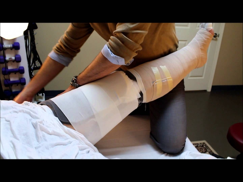 Caregiver Lymphedema Leg Wrap | lymphatic drainage | Pinterest ...