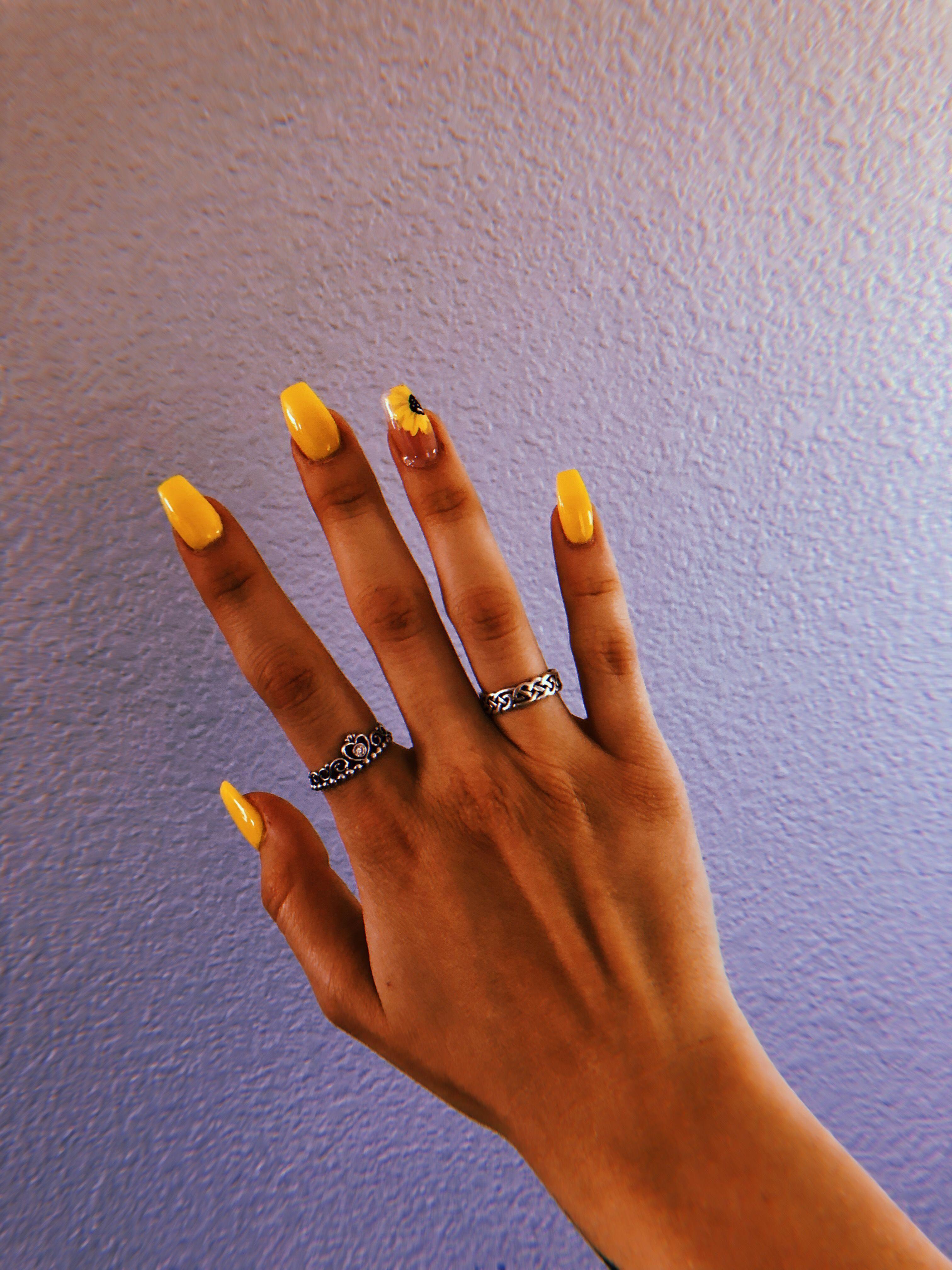 Neon yellow nail polish | Yellow nail polish, Neon yellow
