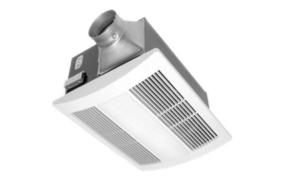 Panasonic Ventilation Whisperwarm Quiet Fan Heater Solution 110 Cfm Fv 11vh2 Fan Light Bathroom Heater Bathroom Fan Light
