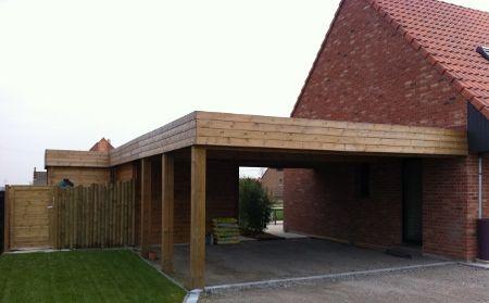 Constructeur Carport Toit Plat - Fabrication \ Montage Carport - Montage D Un Garage En Bois