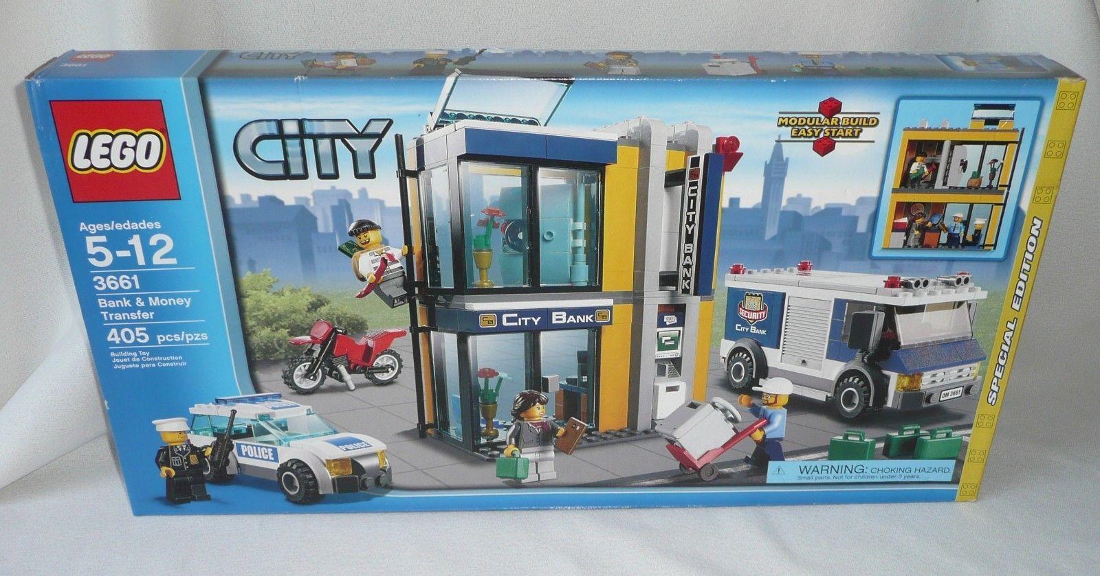 Lego City Police 3661 Bank Money Transfer Nib Lego City